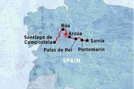 Camino De Santiago Map Walk The Camino De Santiago Spain Tours Peregrine Adventures Us