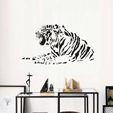 popular tiger wall stickers buy cheap tiger wall stickers lots growling tiger wall stickers reviews online shopping growling tiger wall stickers