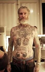 Old Man Tattoo Meme - pensioners show off skin covered in tattoos daily mail online