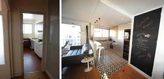 sejour avec cuisine ouverte rénovation d un appartement avec une cuisine ouverte sur le séjour