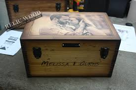 wedding gift keepsake box we get compliments all the time relic wood