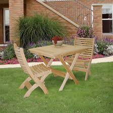Folding Patio Dining Table Amish Handcrafted Pine Outdoor Folding Patio Chair