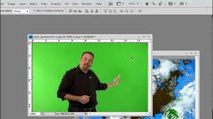 how to use green screen in photoshop chroma key youtube