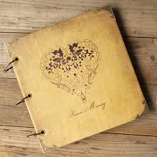Handmade Leather Photo Albums Aliexpress Com Buy High Quality Leather Forever Memory Cover Diy