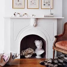 summer home decor ideas summer fireplace decor ideas popsugar home