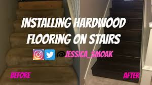 Strongest Hardwood Flooring Weekend Projects With Jessica Hardwood Flooring Stairs Youtube