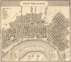 Maps Of New Orleans by Restoration Of A Unique Urban Esthetic While Avoiding The