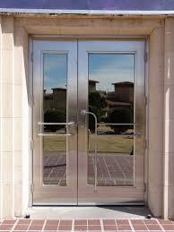 full glass entry door fancy double steel entry doors or full glass entrance doors of