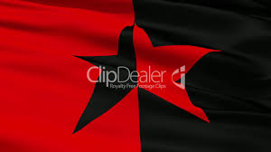 Star Flags Red And Black Star Flag Lizenzfreie Stock Videos Und Clips