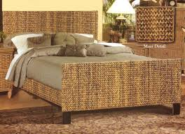 Island Bedroom Furniture island breeze wicker beds and headboards by seawinds trading