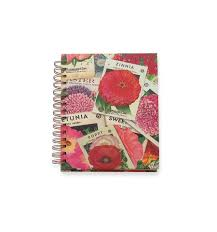 vintage seed packets vintage seed packets hardcover journal lined zinnia poppy garden