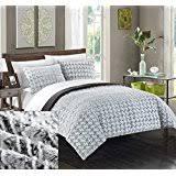 Silver Comforter Set Queen Amazon Com Silver Comforter Sets Comforters U0026 Sets Home