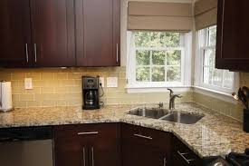 backsplash pictures for kitchens modern white glass bricks kitchen backsplash design with glass