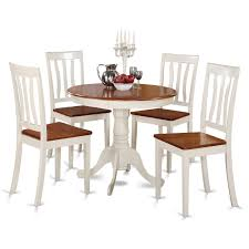 other american drew camden white round dining table set