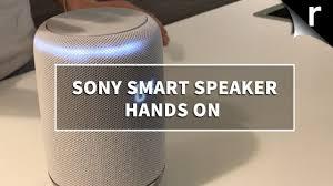 motion l wireless speaker sony lf s50g smart speaker hands on review echo rival youtube