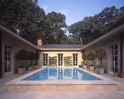 U Shaped House Plans With Pool In Middle House Plans Around Pool House Design Plans