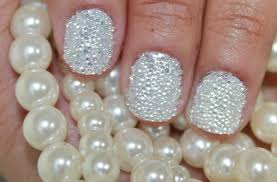 nail art with pearls u2013 slybury com