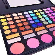 shany professional makeup kit 78 color mac