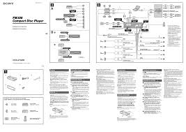 wiring diagram for sony car stereo the inside cd player gooddy org