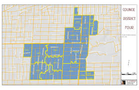 Map Berkeley City Council District 4 City Of Berkeley Ca