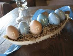 Religious Outdoor Easter Decorations by Christian Easter Table Decorations Designcorner