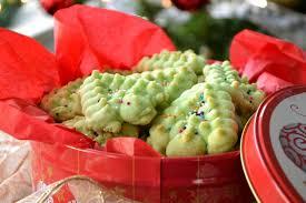 almond spritz press cookies recipe cookie recipes cookie