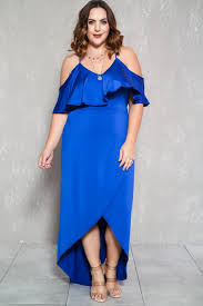 plus size cobalt blue dress gaussianblur
