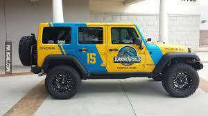 jurassic world jeep the new jurassic world jeep 9gag