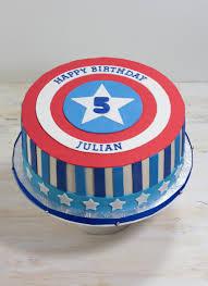 captain america superhero cake by whipped bakeshop in philadelphia