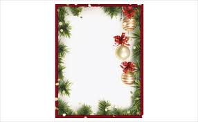 christmas border templates for word best business template u0027s