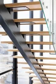 Steel Banister Rails Steel Glass And Oak Handrail Hacin Associates Boston