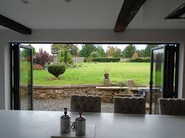 open plan living with bi folding doors alufolddirect