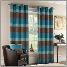 Walmart Brown Curtains Blue And Brown Curtains Walmart Curtains Home Design Ideas