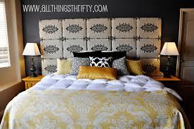 furniture inspiring homemade headboards for wonderful bedding