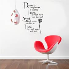 decor wallpaper picture more detailed picture about rainbow fox rainbow fox word wall decal dance as though no one is watching quote wall stickers chrysanthemum
