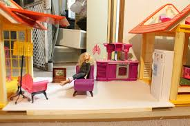 must add fabric softener combining two barbie houses part one