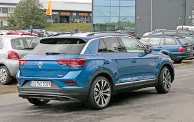 vw t roc r 2018 revealed in pictures by car magazine