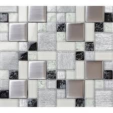 stainless steel kitchen backsplash tiles metallic backsplash tile brush 304 stainless steel metal