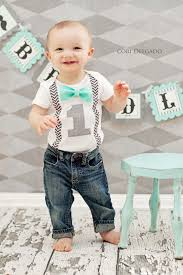 1st birthday boy boys birthday boys bow tie suspender cake smash