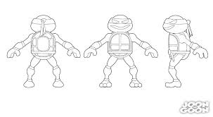 ninja turtles coloring pages u2014 fitfru style