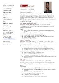 download lead electrical engineer sample resume