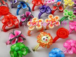 flower girl rings images Mix flower girl 39 s children 39 s kids rings birthday party gift jpg