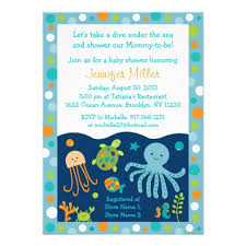 the sea baby shower invitations baby shower invitations best the sea baby shower