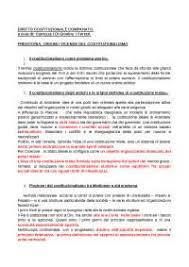 diritto costituzionale comparato carrozza riassunto diritto costituzionale comparato carrozza di giovine
