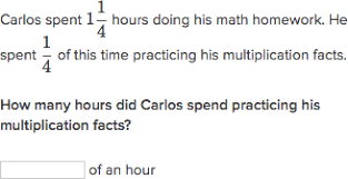 math problem fractions multiply fractions word problems practice khan academy