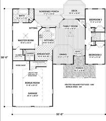 country style house plan 3 beds 2 00 baths 1496 sq ft plan 56 548