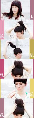 easy messy buns for shoulder length hair how to put short hair in a messy bun the science behind short