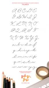 discover your lettering style with cursive lettering