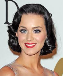 bob hairstyles for 50s katy perry s retro 50 s bob vintage hair modern girls