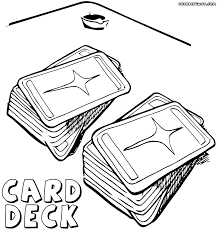 playing cards coloring pages coloring pages to download and print